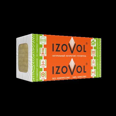 Утеплитель IZOVOL Ст-50, 1200Х600Х100 мм, (4 плит, 2,88 кв.м) - 1