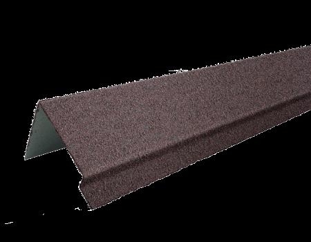 ТЕХНОНИКОЛЬ HAUBERK наличник оконный металлический LUX, Шотландский, шт. - 1