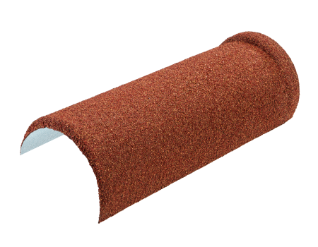 Конек полукруглый LUXARD Коралл, 395х148 мм, (радиус 74 мм) - 1