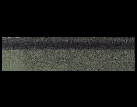 Коньки-карнизы SHINGLAS Зеленый экстра 253х1003 мм (20 гонтов, 20 пог.м, 5 кв.м) - 1