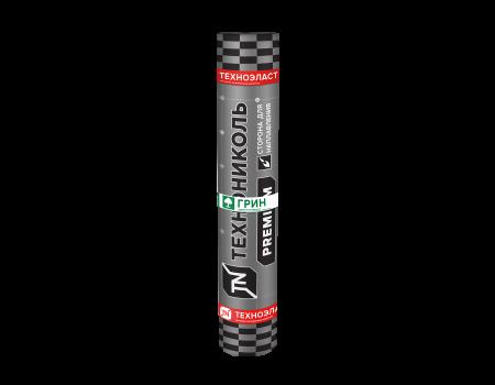 Техноэласт Грин ЭКП сланец серый, 10х1 м - 1