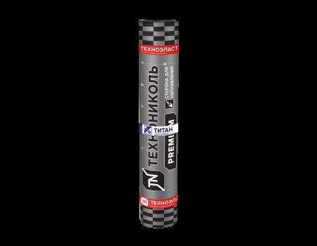 Техноэласт Титан Top ЭКП базальт коричневый  микс, 10х1 м - 1