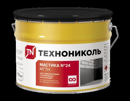 Мастика гидроизоляционная №24 (МГТН), ведро 10 кг - 1