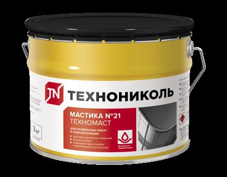 Мастика кровельная  №21 (Техномаст), ведро 3 кг - 1