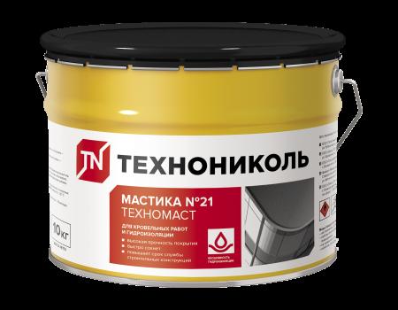 Мастика кровельная Техномаст №21, ведро 10 кг - 1