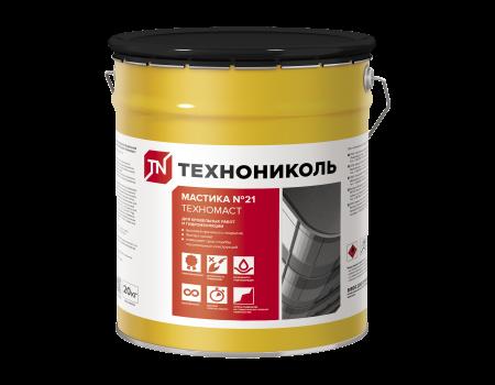 Мастика кровельная Техномаст №21, ведро 20 кг - 1