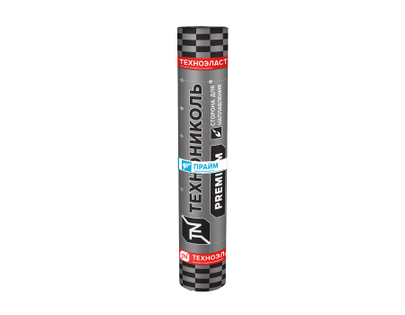 Техноэласт Прайм ЭКМ сланец серый, 10х1 м - 1