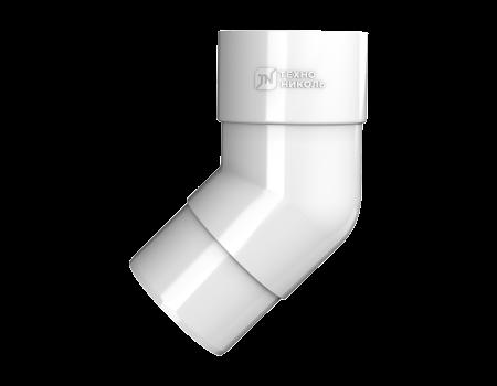ТН ПВХ D125/82 мм колено трубы 135° - 2