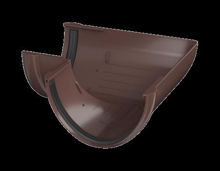 ТН ПВХ D125/82 мм угол желоба 90° - 1