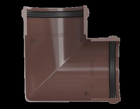 ТН ПВХ D125/82 мм угол желоба 90° - 4