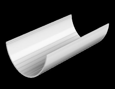 ТН ПВХ D125/82 мм желоб (3 м), белый - 1
