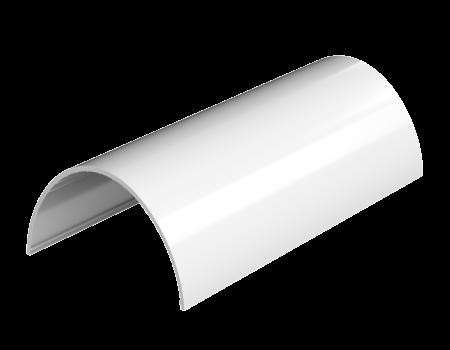 ТН ПВХ D125/82 мм желоб (3 м), белый - 2