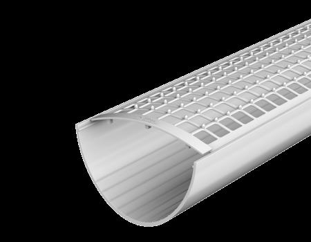 ТН ПВХ D125/82 мм желоб (3 м), белый - 3