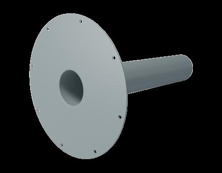 ПВХ воронка экструдированная, 100х240 мм - 1
