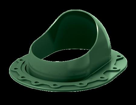 Проходной кровельный элемент SKAT кровельный, зеленый, шт. - 1