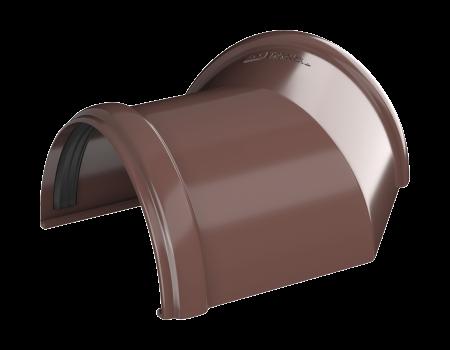 ТН ПВХ D125/82 мм угол желоба 135° - 3