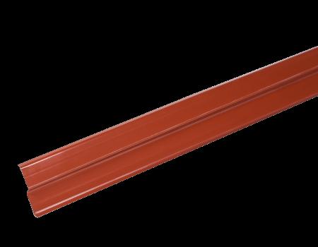LUXARD Прижимная планка (планка примыкания), красная, 2000х85 мм, (0,17 кв.м) - 1