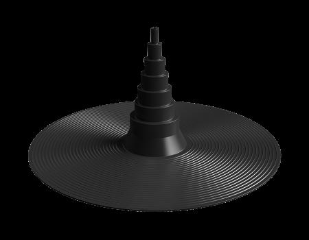 Уплотнитель антенн и труб SHINGLAS универсальный D=10-75, шт. - 1