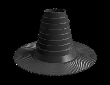 Уплотнитель антенн и труб SHINGLAS универсальный D=90-175, шт. - 1