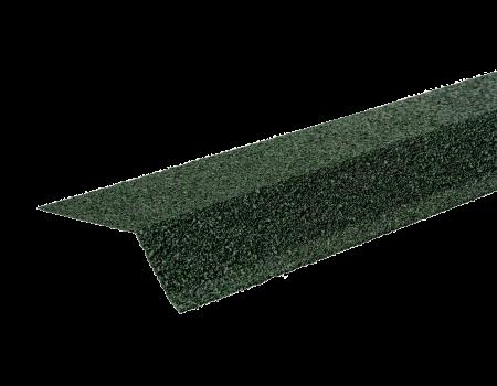 ТЕХНОНИКОЛЬ Планка карнизная с гранулятом, зеленый, шт. - 1