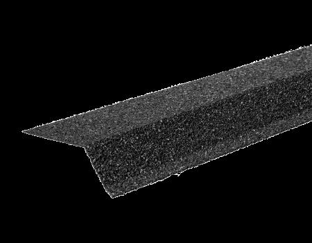 ТЕХНОНИКОЛЬ Планка карнизная с гранулятом, серый, шт. - 1