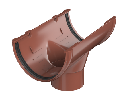 ТН ПВХ D125/82 мм воронка желоба - 1