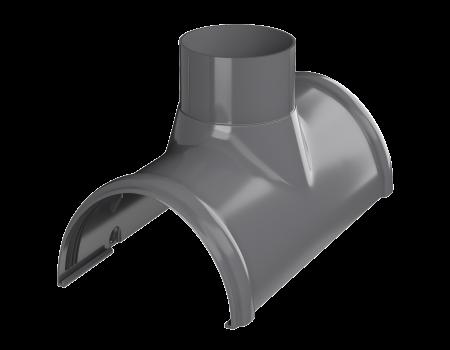 ТН ПВХ D125/82 мм воронка желоба - 2