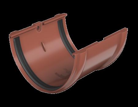 ТН ПВХ D125/82 мм соединитель желоба - 1