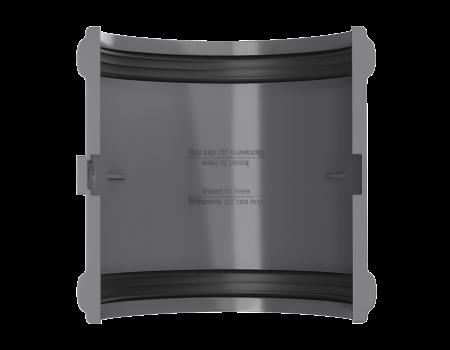 ТН ПВХ D125/82 мм соединитель желоба - 3