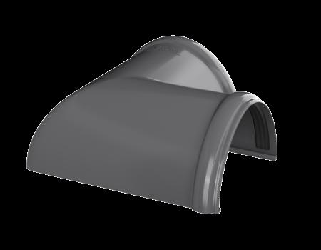 ТН ПВХ D125/82 мм угол желоба 90° - 3