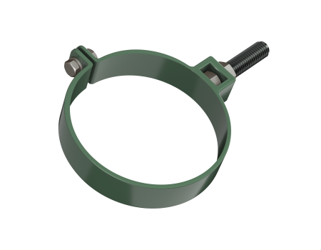 ТН ПВХ D125/82 мм хомут трубы универсальный 140мм - 1