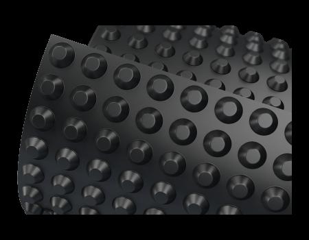 Мембрана профилированная PLANTER Eco - 1