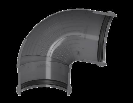 ТН ПВХ D125/82 мм угол желоба, регулируемый 90°-150° - 3