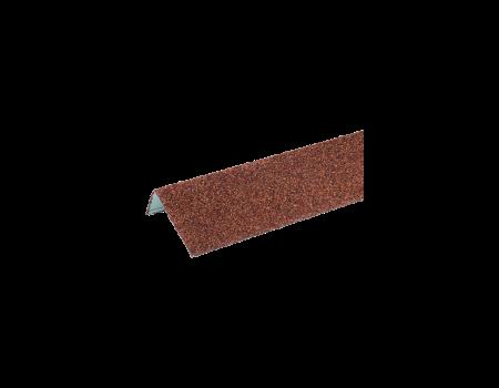 ТЕХНОНИКОЛЬ HAUBERK наличник оконный металлический терракотовый - 1