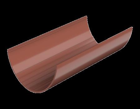 ТН ПВХ D125/82 мм желоб (3 м), красный - 1