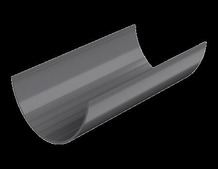 ТН ПВХ D125/82 мм желоб (3 м), серый - 1