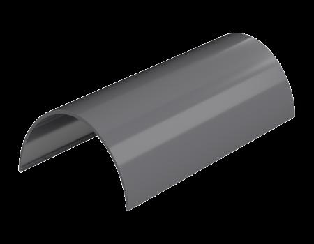 ТН ПВХ D125/82 мм желоб (3 м), серый - 2