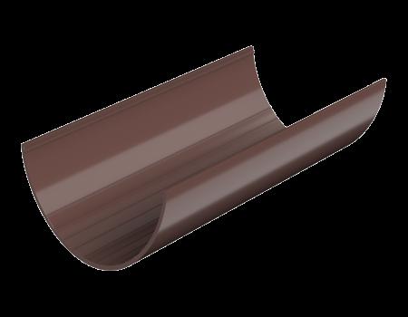 ТН ПВХ D125/82 мм желоб (1,5 м), коричневый - 1
