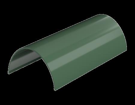 ТН ПВХ D125/82 мм желоб (1,5 м), зеленый - 2