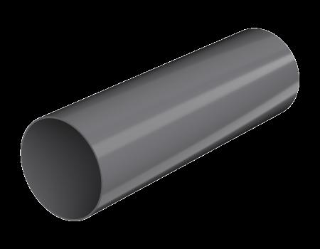 ТН ПВХ D125/82 мм труба (3 м) - 1