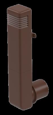 Цокольный дефлектор, коричневый - 2