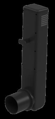 Цокольный дефлектор, темно-серый - 1