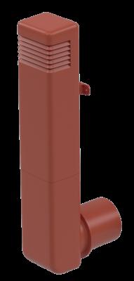 Цокольный дефлектор, красный - 2