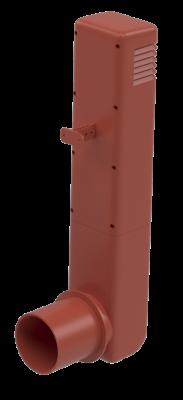 Цокольный дефлектор, красный - 1