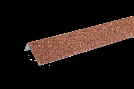 ТЕХНОНИКОЛЬ HAUBERK наличник оконный металлический, красный - 1