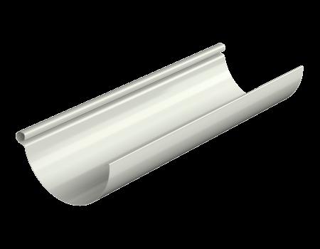 ТН МВС, желоб водосточный 125 мм, 3 п.м, белый - 1