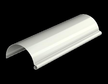 ТН МВС, желоб водосточный 125 мм, 3 п.м, белый - 2