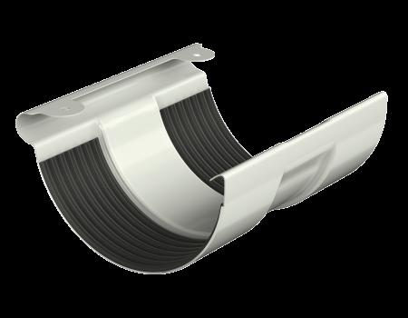 ТН МВС, соединитель желоба, белый - 1