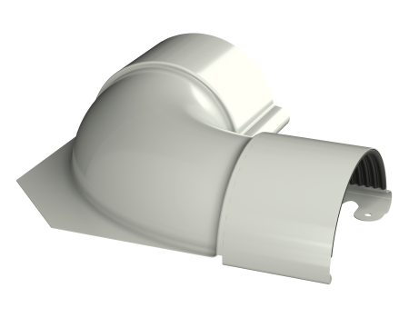 ТН МВС, внутренний угол 90°, белый - 2