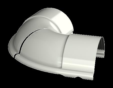 ТН МВС, угол внешний, регулируемый 100 -165°, белый - 4